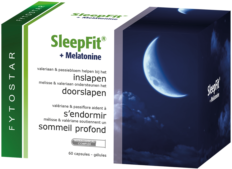 SleepFit<sup>&reg;</sup> + Melatonine